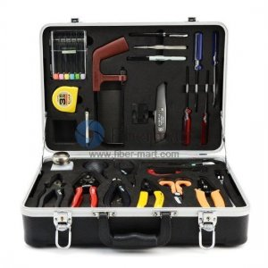 Fiber Optic Fusion Splicing Tool Kit HW-6300N