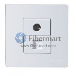 1xRJ45+1xTV Outlet Socket Wall Panel Face Plate 120 Type 86 Series