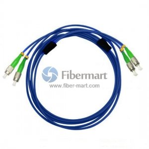 FC/APC to FC/APC Duplex Singlemode 9/125 Armored Patch Cable