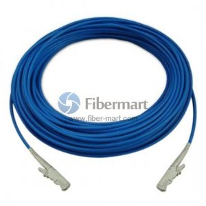 E2000/UPC to E2000/UPC Simplex Singlemode 9/125 Armored Patch Cable