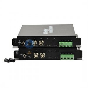 2 Channel Video & 1 Channel Reverse Data & 2 Channel Forward Audio & Ethernet to Fiber SM 20km Optical Video Multiplexer
