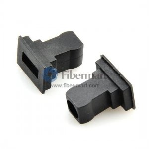 SC Mating Sleeve Adapter Dust Caps,Black Color,100 pcs/pack