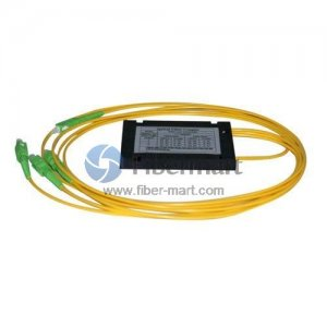 4x4 FBT OM3 Single Window Fiber Splitter with ABS Box