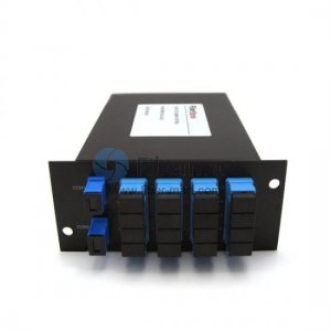 2x16 Fiber PLC Splitter with Standard LGX Metal Box