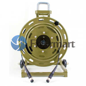 1KM ODC to ODC 2 Fiber Outdoor Armored Tactical Cable