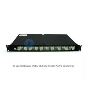 40 channels, Type A, 2RU Rack Mount, Simplex BIDI, Thermal AWG, DWDM Mux & Demux
