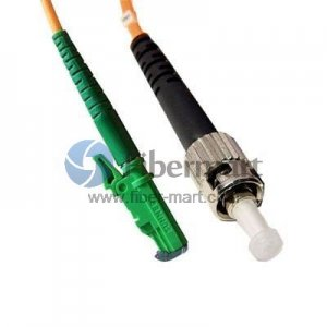 ST-E2000 Simplex 10G OM4 50/125 Multimode Fiber Patch Cable