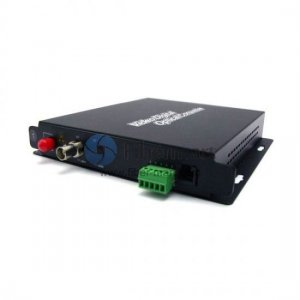 1 Channel Forward Video & 1 Channel Forward Data & 1 channel Forward Audio & 100M Ethernet to Fiber SM 20km Optical Video Multiplexer