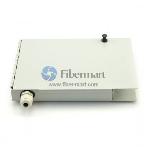 8 Fibers FC Wall Mounted Fiber Terminal Box as Distribution Box with Pigtails and Adapters