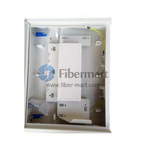 1x32 Fiber Optical Splitter SPCC Terminal Box As Distribution Box FM-CJS-32A
