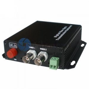 2 Channel Bi-Directional  Video & 2  Bi-Directional  Data & 2  Bi-Directional  Audio to Fiber SM 20km Optical Video Multiplexer