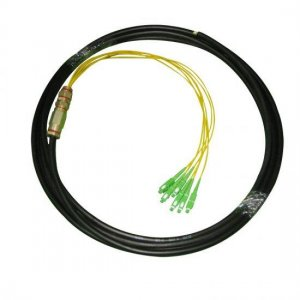 12Fiber Multimode 50/125 FC/SC/ST/LC Waterproof Fiber Optic Pigtail