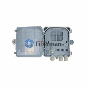 1x8 Fiber Splitter Box 8 Fiber Type B Optical Distribution Box