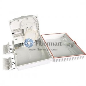 1x16 Splitter Plastic PLC Distribution Box for SC/LC Adapter