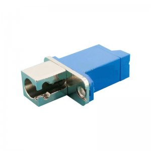 E2000 to LC UPC Hybrid Adapter Female to Female Fiber Adapter SM Fiber Coupler
