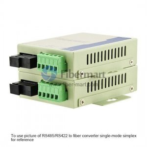 Industrial RS-485/RS-422 to Multi-mode Duplex Fiber Converter, 1310nm 2km