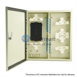 48 Ports Fiber Terminal Box As distribution box Outdoor Wall Mountable for 24 Fibers