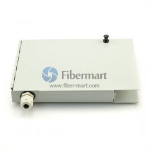 8 Fibers ST Wall Mounted Fiber Terminal Box as Distribution Box with Pigtails and Adapters
