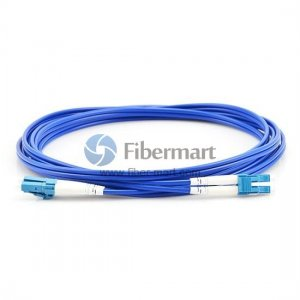 LC/UPC to LC/UPC Duplex Singlemode 9/125 Armored Patch Cable