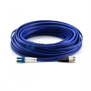 Duplex Singlemode Armored Patch Cable