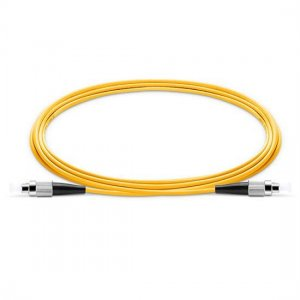 10M FC UPC to FC UPC Simplex 2.0mm PVC(OFNR) 9/125 Single Mode Fiber Patch Cable