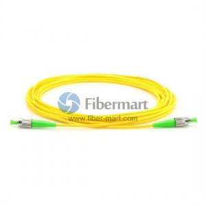 FC/APC to FC/APC Singlemode Simplex Fiber Patch Cable
