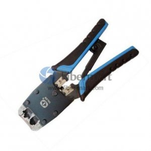 Dual-Modular Network Plug Crimps, Strips & Cuts Tools Talon Model# TL-500R