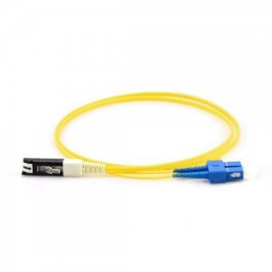 Custom VF45-SC 9/125um SM Duplex Fiber Patch Cable