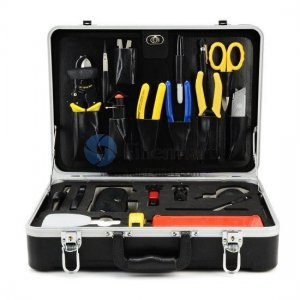 Fiber Optic Cable Fusion Splicing Tool Kit FM-04U
