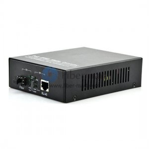 A Pair of 10/100/1000M Single Fiber 1310/1550nm 40km POE Media Converter