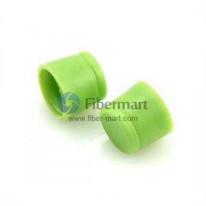 Rubber Dust Cap Covers FC Connector Housing and FC Adapters,Green Color,100 pcs/pack