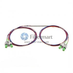 2x2 FBT Singlemode Single Window 900um Fiber Splitter