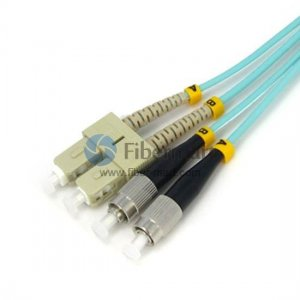 SC to FC Multimode 10G OM3/OM4 50/125 Mode Conditioning Patch Cable online sale