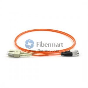 FC-SC Duplex OM2 50/125 Multimode Fiber Patch Cable