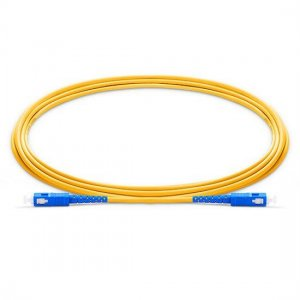 10M SC UPC to SC UPC Simplex 2.0mm LSZH 9/125 Single Mode Fiber Patch Cable