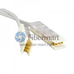 1m 2 Pair Cat 5e 110 to 110 Patch Cable