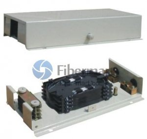 12 Fibers Wall Mounted Fiber Optic Terminal Box As distribution box FM-48A/48-12C