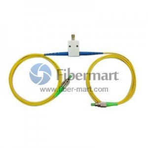 FC/APC to FC/APC Variable Fiber Optic VOA In-Line Attenuator 0-60dB