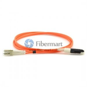 3M VF45-LC 50/125um OM2 MM Duplex Fiber Patch Cable