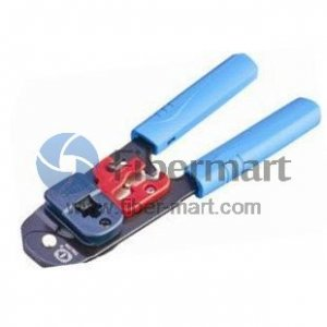 3 Ways Network Modular Tool Crimps, Strips & Cuts Talon Model# TL-208M