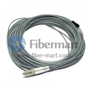 12-fiber 3.0mm 50/125 OM2 Multimode LC/SC/ST/FC Armored Bunch Pigtail