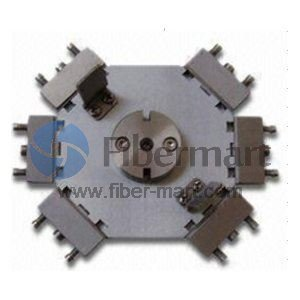 Polishing Fixture/Holder for MTRJ/UPC 12 Ferrules (MTRJ Ferrule Jig)