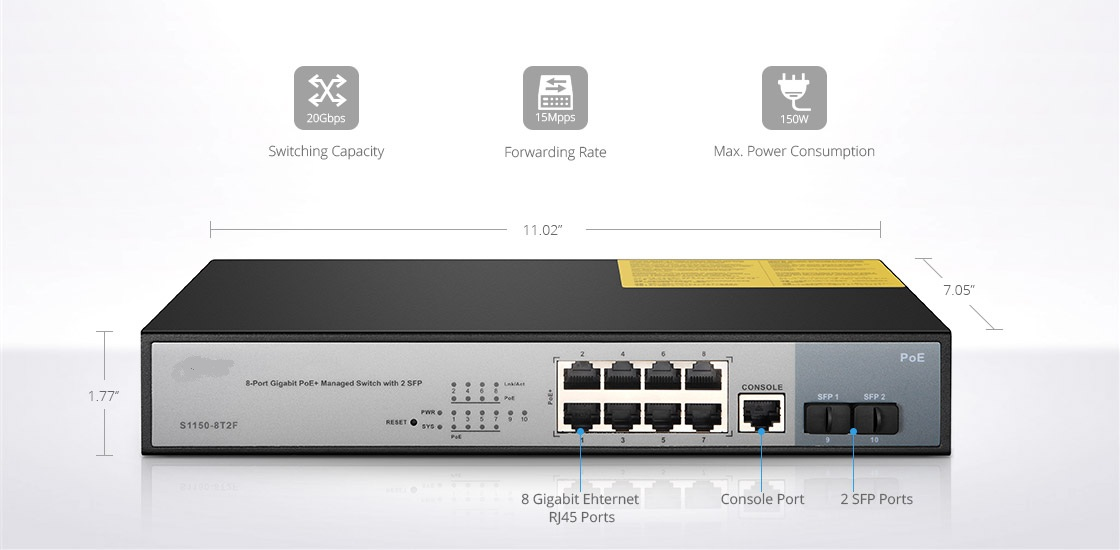 1G Switches Powerful Enterprise Switch