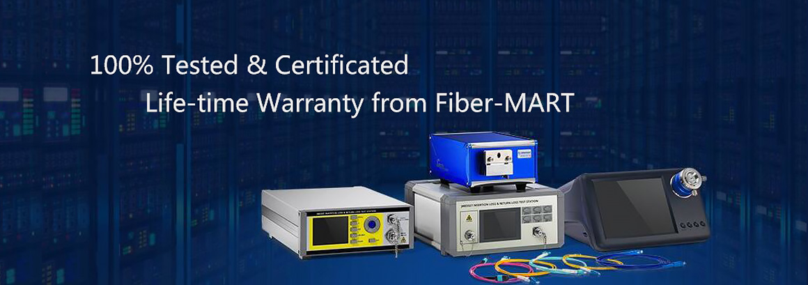 100% Tested! Life-time Warranty from Fiber-MART.COM