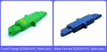 E2000 Fiber Optic Attenuators on Fiber-Mart
