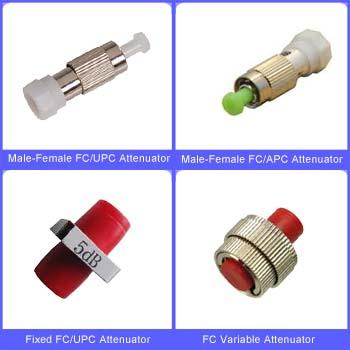 FC Fiber Optic Attenuators on Fiber-Mart