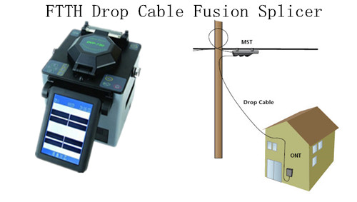 FTTH drop cable fusion splicer